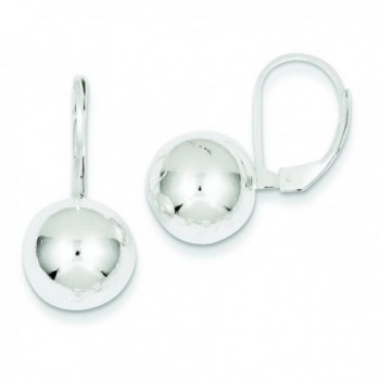 Sterling Silver Dangle Ball Earrings - CH115735ULV