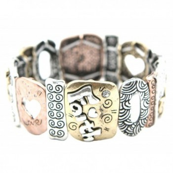 Faith Corinthians Texturee Stretch Bracelet in Women's Stretch Bracelets
