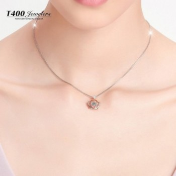 T400 Jewelers Sterling Necklace Swarovski