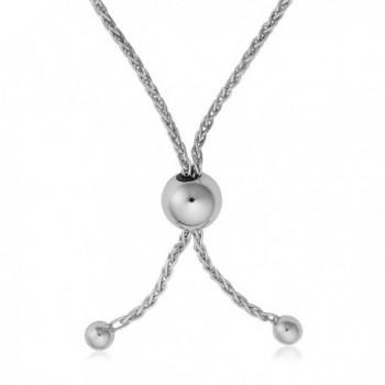 Sterling Silver Diamond cut Adjustable Bracelet