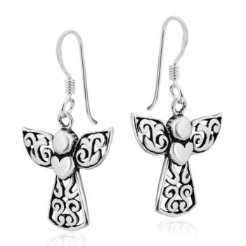 Guardian Sterling Silver Dangle Earrings
