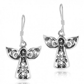 Guardian Sterling Silver Dangle Earrings in Women's Drop & Dangle Earrings