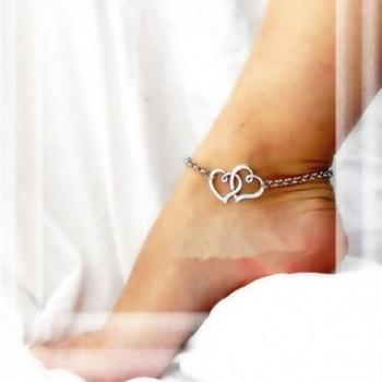 SusenstoneNew Jewelry Double Anklet Bracelet in Women's Anklets