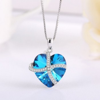 Necklace Pendant Austria Crystal Fashion