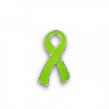 Lime Green Ribbon Pin - Large Flat (Retail) - CG11933Y94P