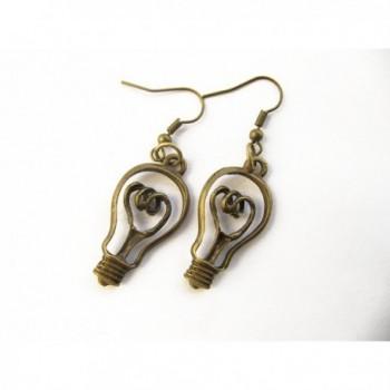 Lightbulb Earrings Teachers Science Jewelry
