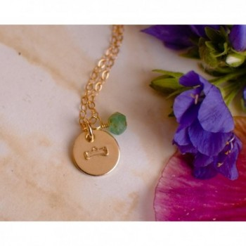 Libra Necklace Filled Simple Pendant