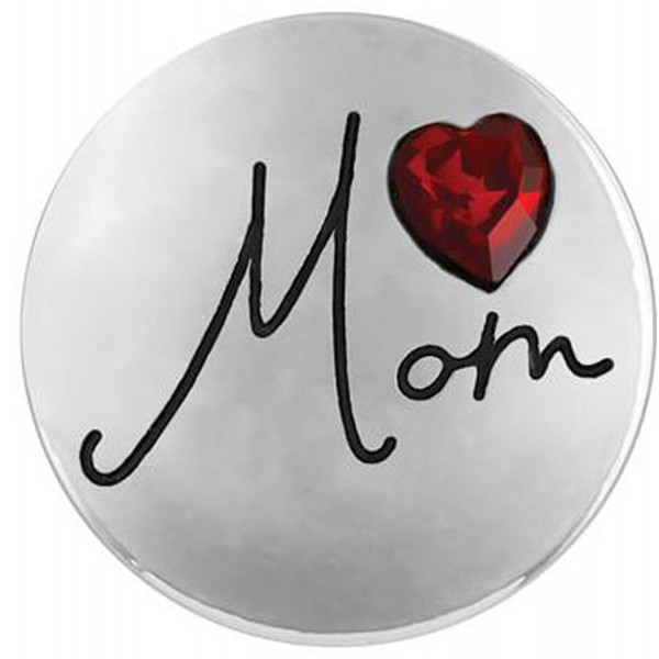 Ginger Snaps MOM HEART SN02-18 (Standard Size) Interchangeable Jewelry Accessories - CD12INRPSPZ