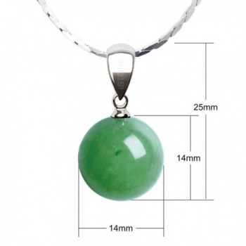 iSTONE Natural Aventurine Necklace Stainless