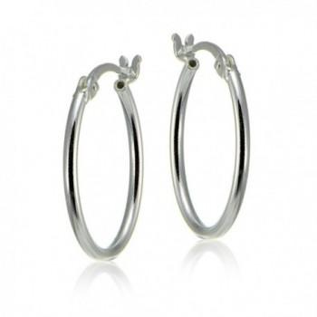 Sterling Silver Polished Dainty Earrings