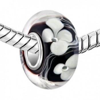 LovelyJewelry Sterling Silver Lampwork Bracelet