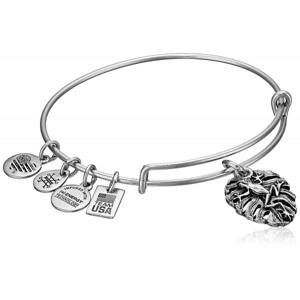 Alex and Ani Frog Expandable Bangle Bracelet - Silver - CY12EU7VZM7