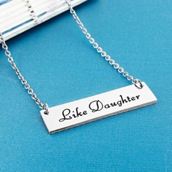 ELOI Daughter Necklace Jewelry Christmas in Women's Pendants