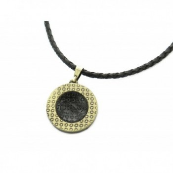 Tree Life Necklace Leather Adjustable in Women's Pendants