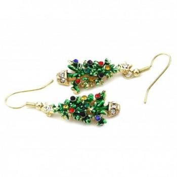 Happy Colorful Christmas Earrings Dangle in Women's Drop & Dangle Earrings