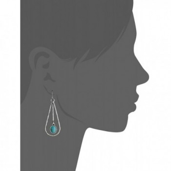 Lucky Brand Turquoise Colored Earrings