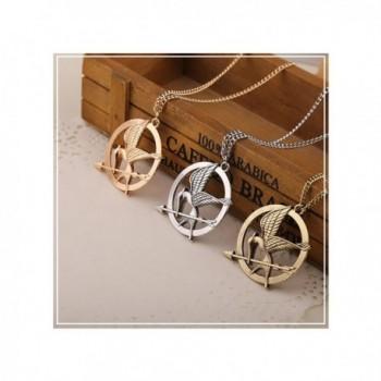 Mocking Pendant Bronze Sweater Necklace
