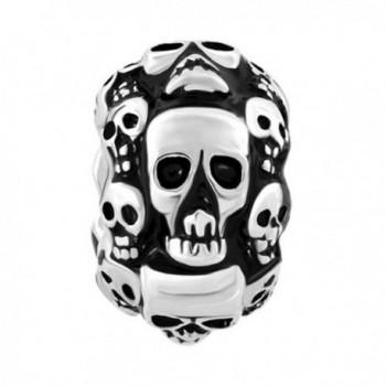 CharmsStory Halloween Skeleton Charmss Bracelets in Women's Charms & Charm Bracelets