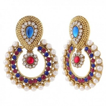 earring necklace jewelry Indian setBANE0332RB