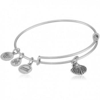Alex and Ani Sea Shell II Bangle Bracelet - Rafaelian Silver - CO17YS9MOHX
