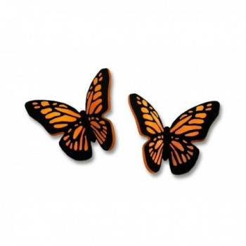 Sienna Sky Small Monarch 3D Butterfly Post Earrings 1731 - CZ11E2XS9SN