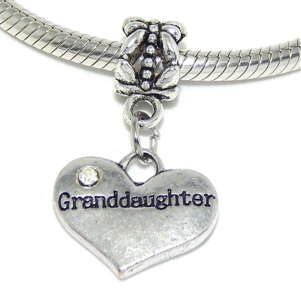 Jewelry Dangling Granddaughter Crystals Bracelet - CS11TR7TKSR