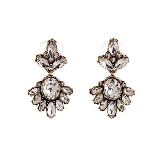 Fun Daisy Fashion Jewelry Retro Luxury Stud Earrings - ed00748 - CY11TI5Q66R