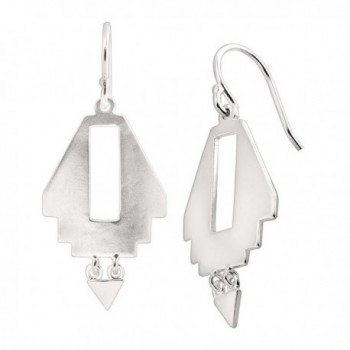 Silpada 'Navajo' Sterling Silver Cutout Drop Earrings - CV12NB6OBWW