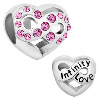CharmsStory Infinity Simulated Birthstone Synthetic - CB11S4AQZCB