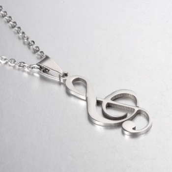 VALYRIA Stainless Musical Pendant Necklace