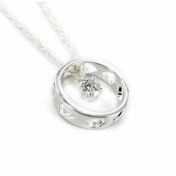 CTR Pendant Necklace Silver plated Righteousness