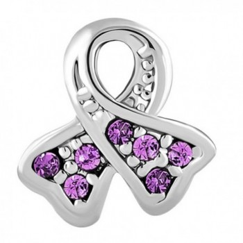 CharmsStory Synthetic Birthstone Awareness Bracelets in Women's Charms & Charm Bracelets