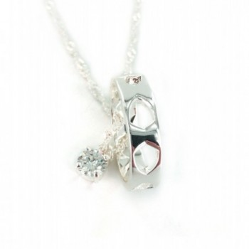 CTR Pendant Necklace Silver plated Righteousness in Women's Pendants