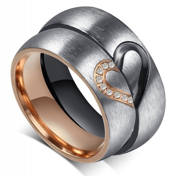 Global Jewelry Stainless Anniversary engagement - CC12313HASX