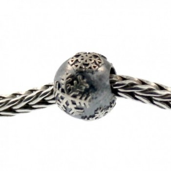 Authentic Trollbeads Sterling Silver 11273 Snowball - CF12JBUPX2V