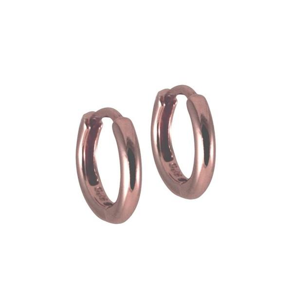 apop nyc Thin Mini Hoop Huggie Earrings Plain [Jewelry] - CF11BP9XRK7