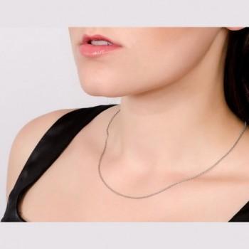 Jane Stone Sterling Necklace Fashion