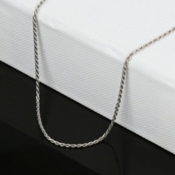 Jane Stone Sterling Necklace Fashion in Women's Chain Necklaces