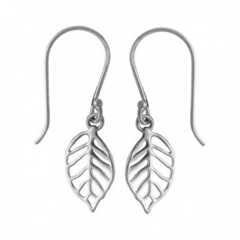 Boma Sterling Silver Leaf Earrings - CF11HEKPZ4H