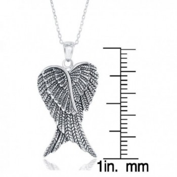 Sterling Silver Double Angel Pendant