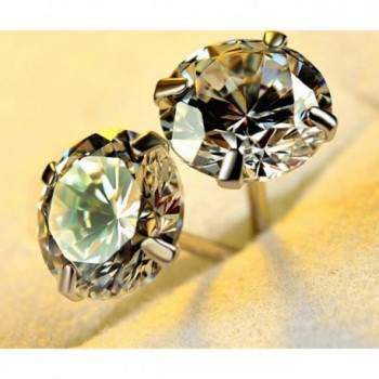 Earring Brilliant Simulated Diamond Earrings