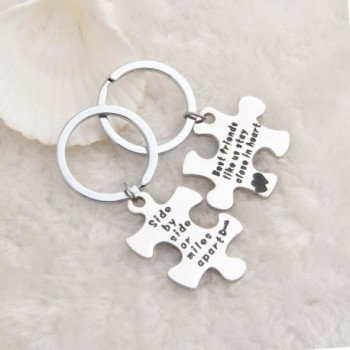 MAOFAED Couples Keychain Jewelry Necklace