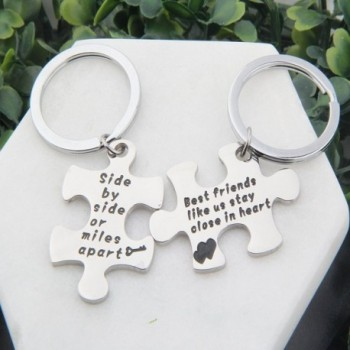 MAOFAED Couples Keychain Jewelry Necklace in Women's Pendants