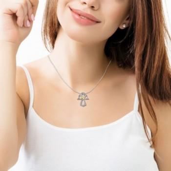 Sterling Silver Pendant Jewelry Necklace in Women's Pendants