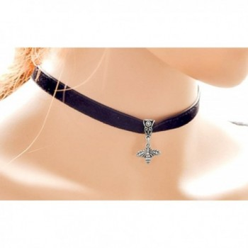 Bumble Bee Black Choker Necklace