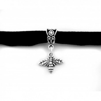 Bumble Bee Black Choker Necklace in Women's Collar Necklaces