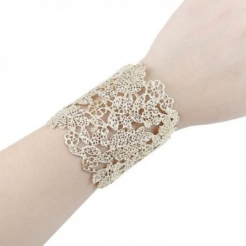 EVER FAITH Wedding Bracelet Gold Tone