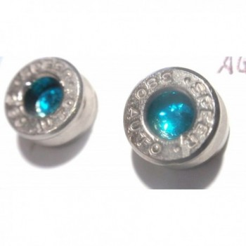 caliber Silver Earrings Stainless crystal in Women's Stud Earrings