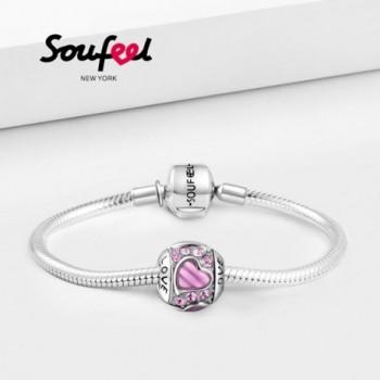 SOUFEEL Swarovski Sterling Bracelets Necklaces in Women's Charms & Charm Bracelets