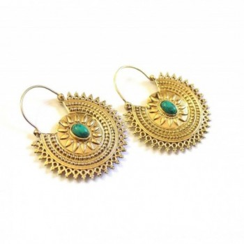 Earrings Fashion Jewelry Tribal Turquoise
